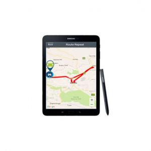 Car Tracking from a Tablet
